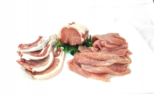 Rôtis de porc, côtes de porc, escalopes de dinde